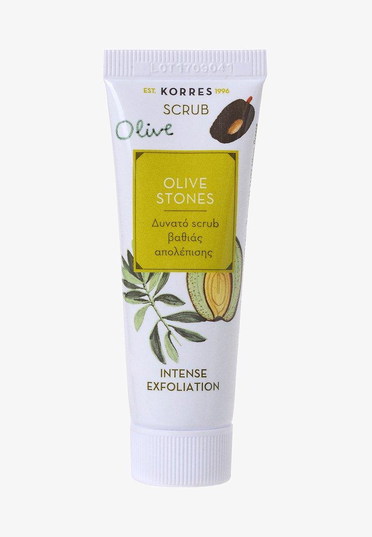 Korres - OLIVE STONES INTENSIVES PEELING - Face scrub - -
