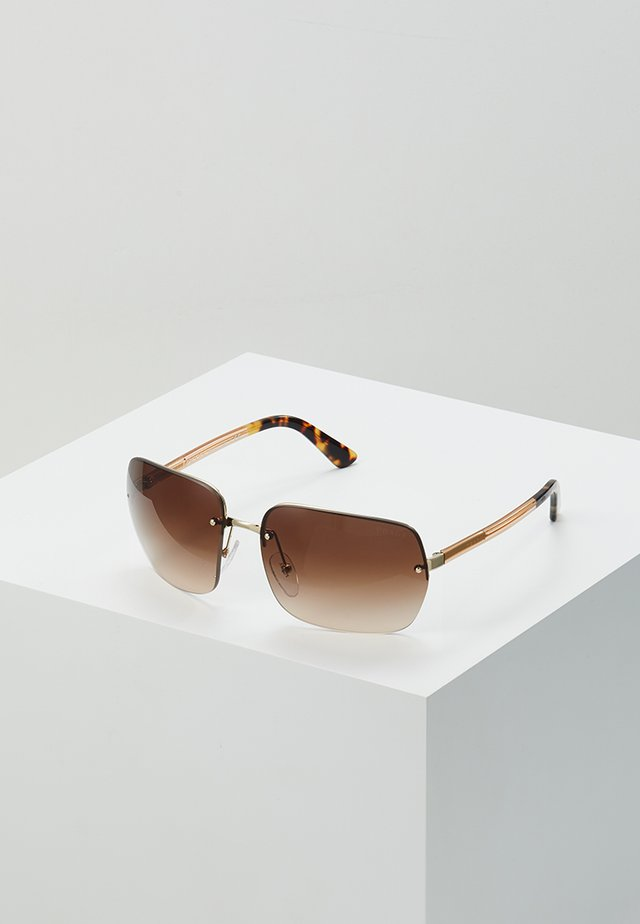 Sonnenbrille - gold/brown