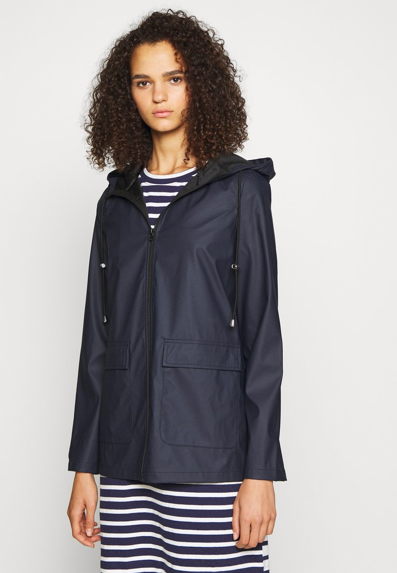 PIECES Tall - PCRARNA RAIN JACKET - Parka - night sky