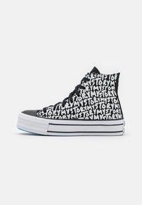 Converse - CHUCK TAYLOR ALL STAR PLATFORM MY STORY - Sneakers hoog - black/egret/digital blue - 1