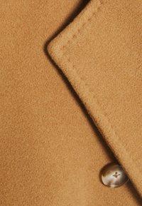 Marc O'Polo - COAT WELT POCKETS - Classic coat - true camel - 2