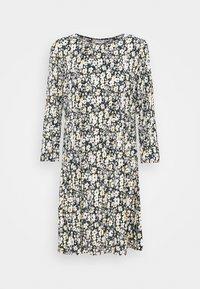 JDYBOA SHORT DRESS - Denní šaty - black/corn