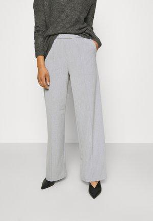 OBJMIAH PANTS - Broek - silver gray