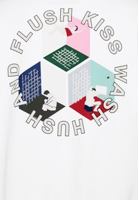 Henrik Vibskov - MAN IN BATHROOM  - Sweatshirt - white / multi-coloured