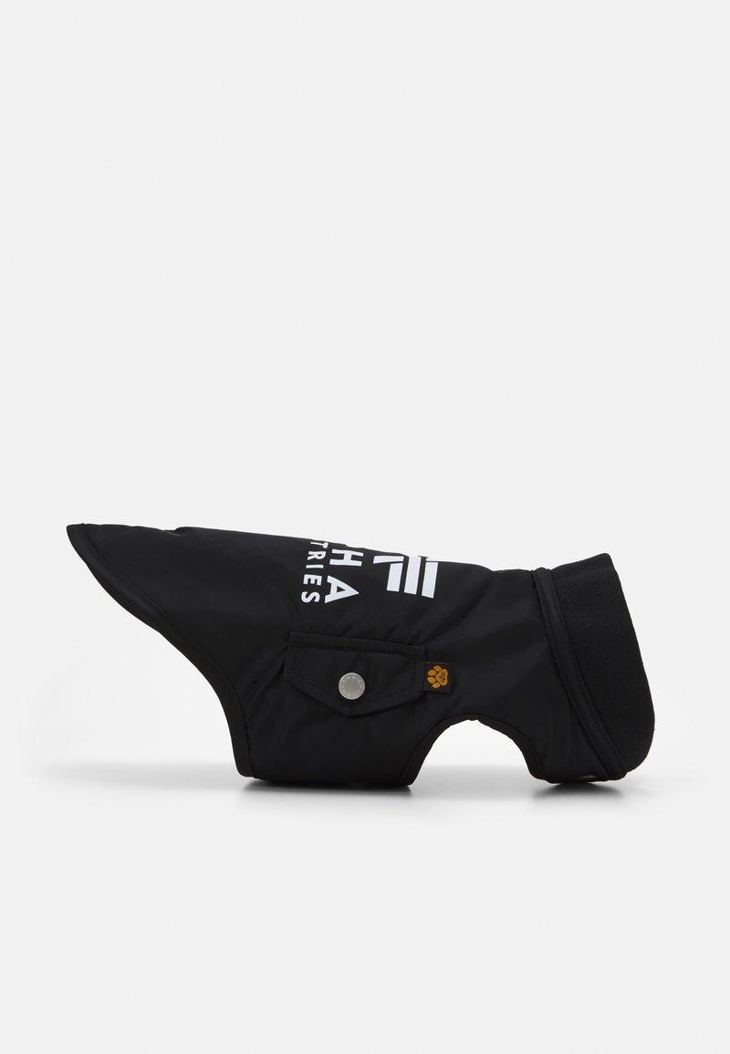 Alpha Industries - DOG JACKET BACKPRINT UNISEX - Muut asusteet - black