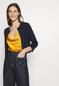 Esprit Collection - ECOVERO BOLERO - Cardigan - navy - 0