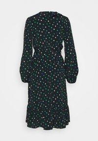 Wallis - DOT DRESS - Korte jurk - green - 1