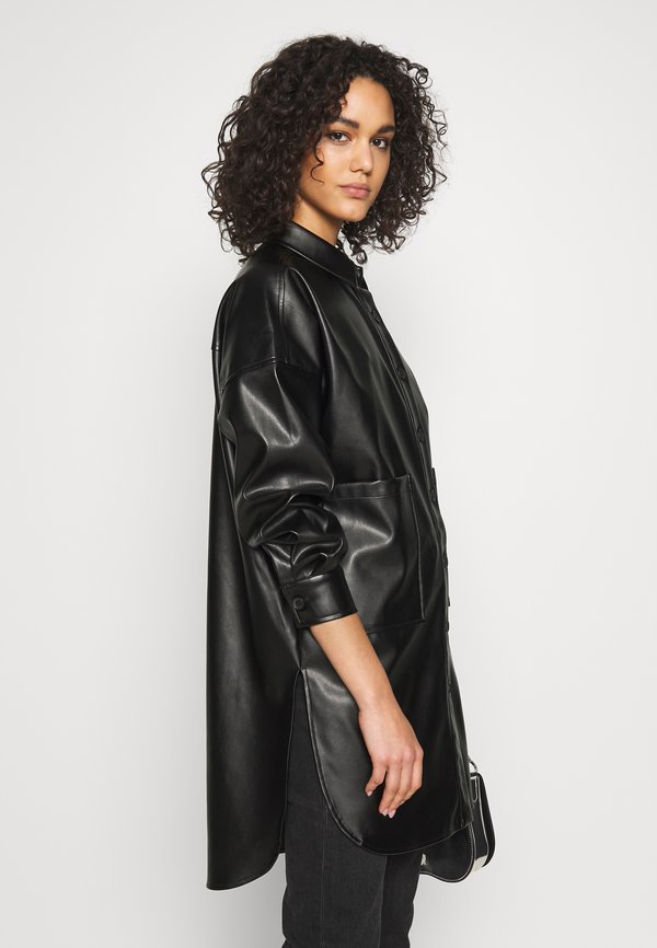 ONLY ONLAMAZE OVERSIZED - Koszula - black/czarny MKHF