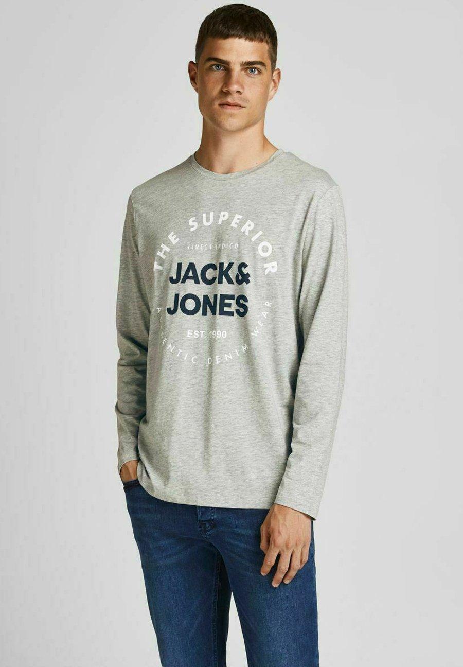 Uomo JJHERRO TEE CREW NECK - Maglietta a manica lunga