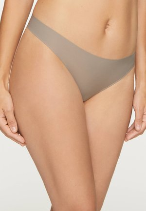 3 PACK - Thong - beige