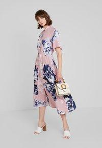 French Connection - CORSETTA DRAPE DRESS - Maxi dress - cinder pink/multi - 2