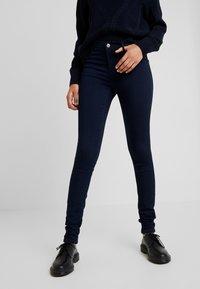 ONLY - ONLRAIN - Jeans Skinny Fit - dark blue denim - 0
