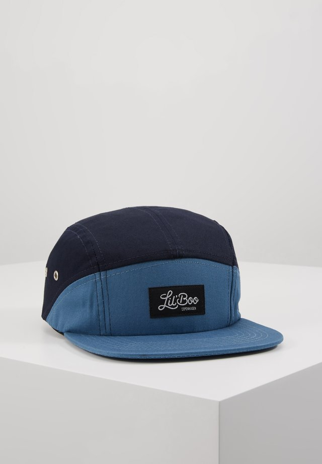 SPLIT BLUE 5 - Cap - blue/navy