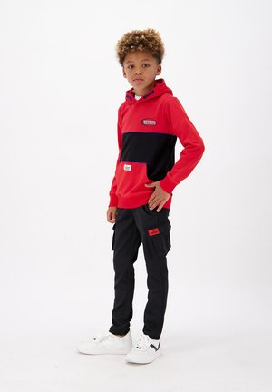 Cargo trousers - deep black