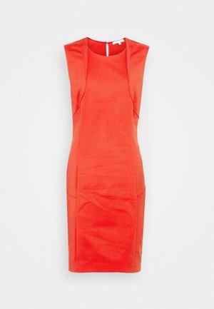 DRESS - Pouzdrové šaty - scala red