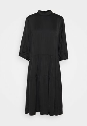 EMME MIDI LAYER DRESS - Sukienka letnia - black