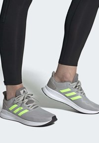 adidas Performance - RUNFALCON SHOES - Zapatillas de running estables - grey - 1