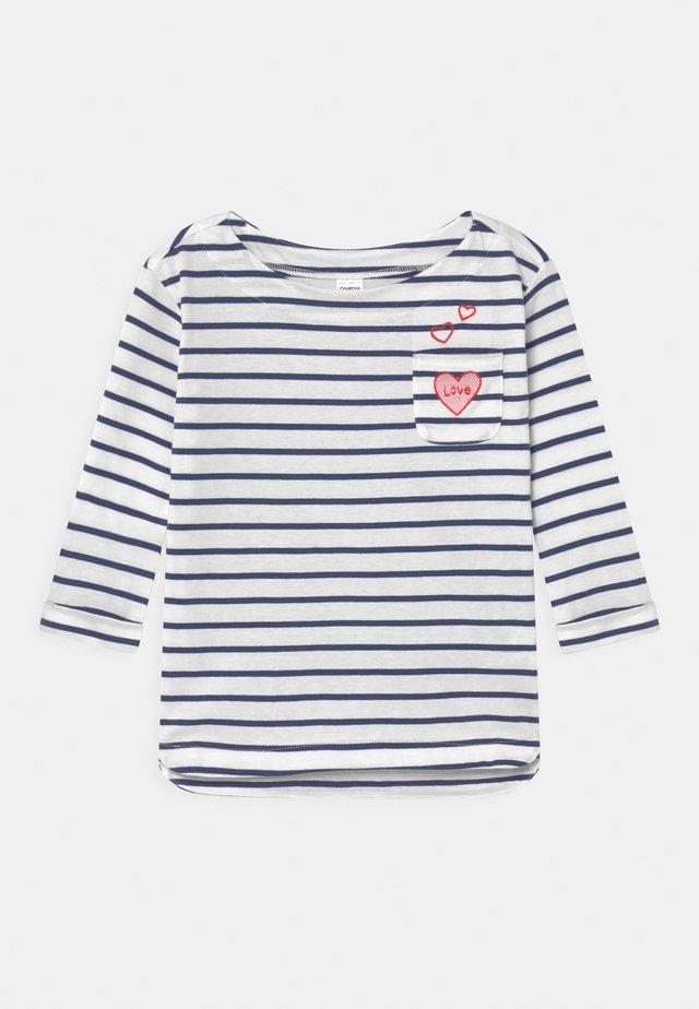 VDAY BOATNECK - Camiseta de manga larga - white