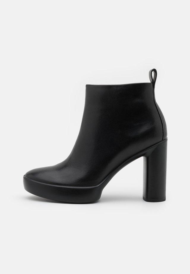 SHAPE SCULPTED MOTION - Kotníková obuv na vysokém podpatku - black