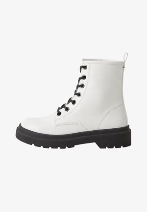 FLOWERS - Veterboots - white