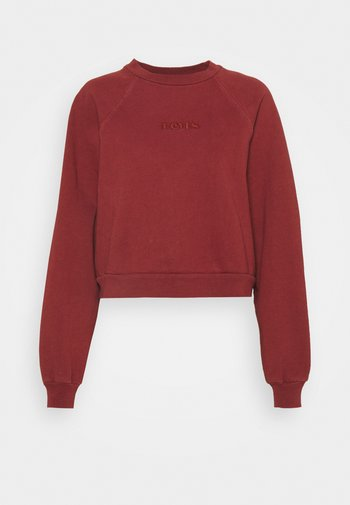 VINTAGE RAGLAN CREW - Sweatshirt - madder brown