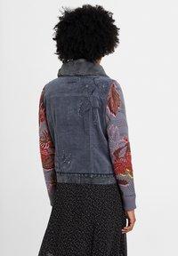 Desigual - CHAQ_PANA - Denim jacket - black - 2