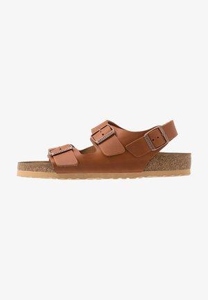 MILANO - Sandals - antique pull cognac