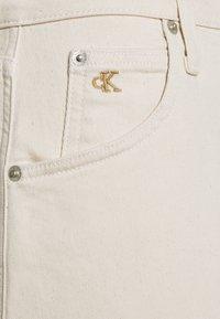 Calvin Klein Jeans - HIGH RISE MINI SKIRT - Mini skirt - denim light - 2