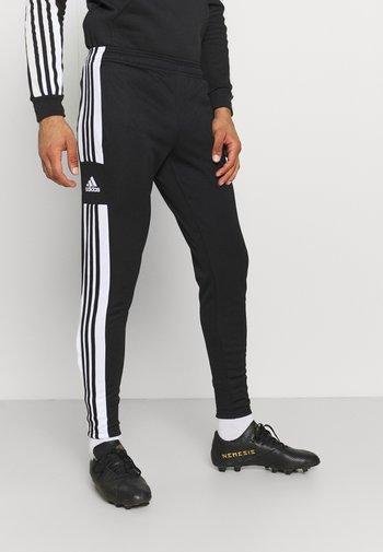 SQUAD - Pantaloni sportivi - black/white
