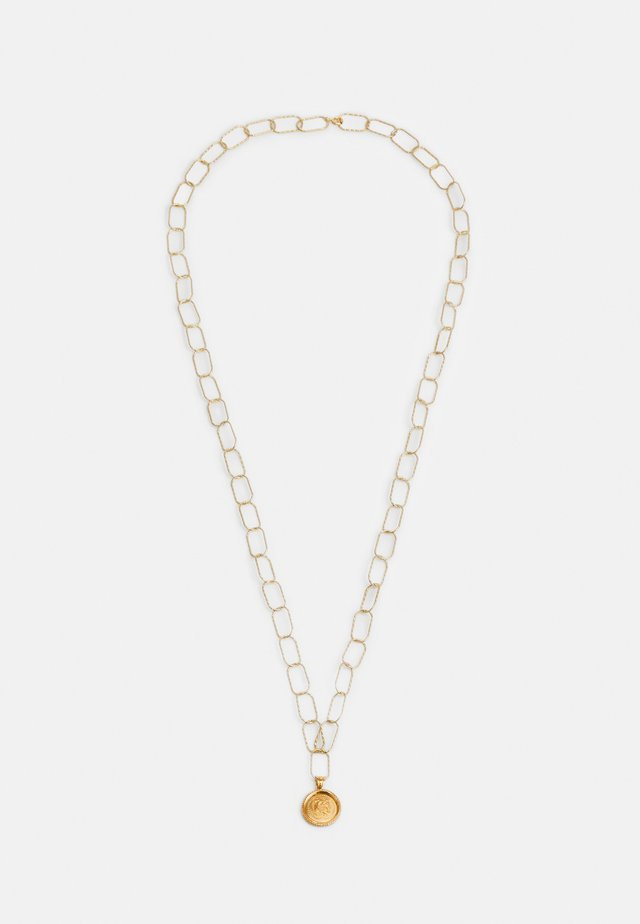 HERCULES STATEMENT NECKLACE - Halskæder - gold-coloured