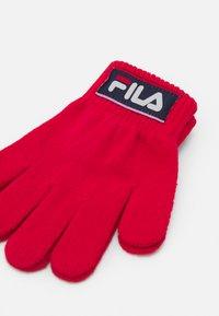 Fila - TAPED GLOVES UNISEX - Gloves - true red - 2