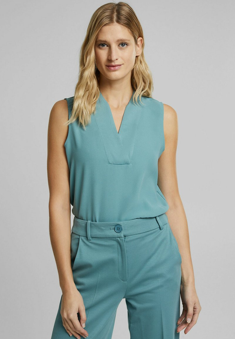 Esprit Collection - Blouse - dark turquoise