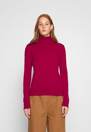 TURTLE NECK - Jumper - burgandy