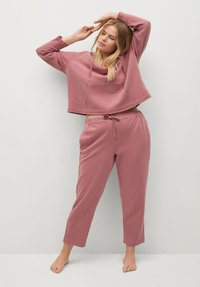 Violeta by Mango - CUPCAKE - Tracksuit bottoms - rosa - 2