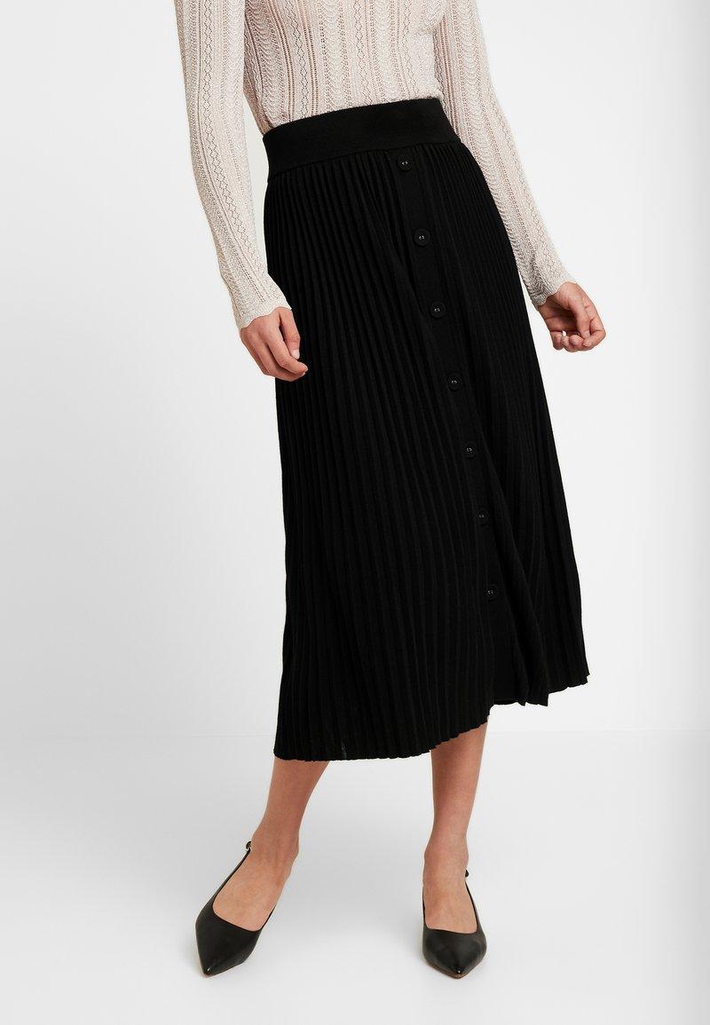 Forever New - PLEATED SKIRT - A-line skirt - black