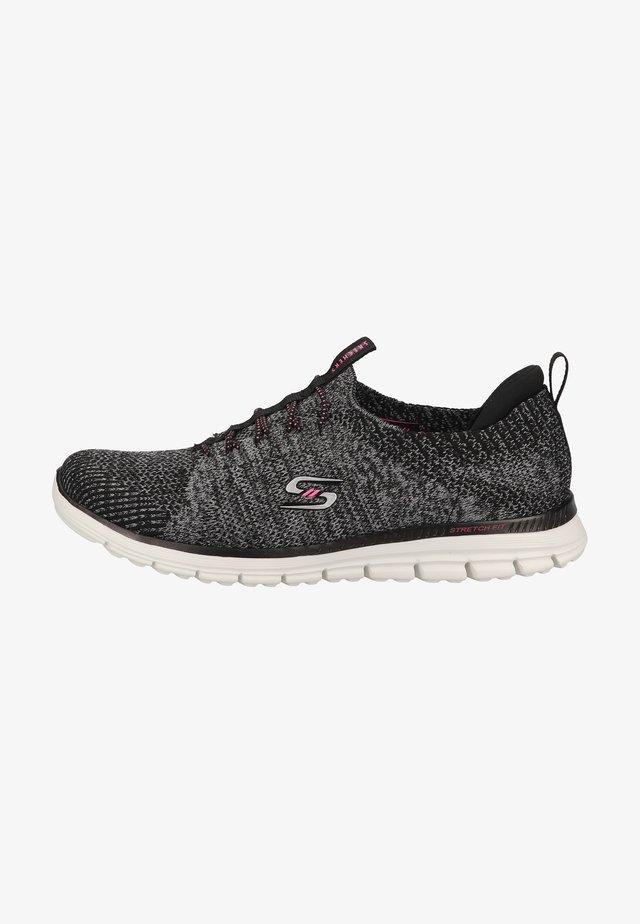 Sneakersy niskie - schwarz bkpk