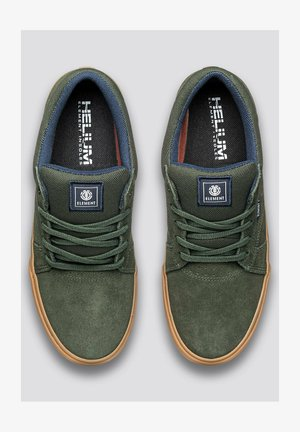 Trainers - forest nght gum