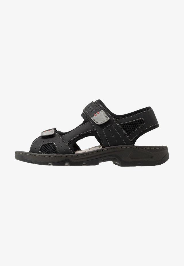 Sandali da trekking - schwarz/grigio