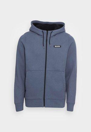 SHERPA LINED  - Sweat à capuche zippé - mid blue
