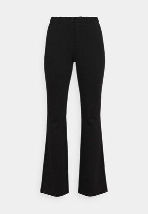 ONLELORA-VIKA SUPER FLARE PANT  - Trousers - black