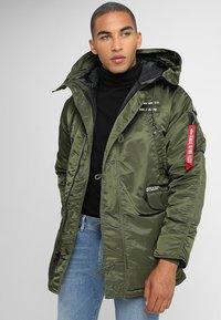Alpha Industries - AIRBORNE - Winter coat - dark green - 4