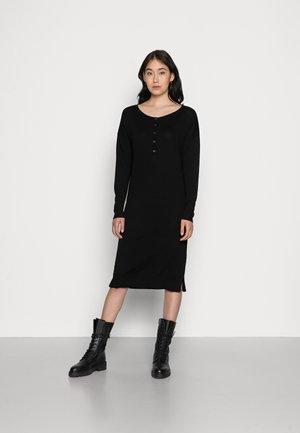 METTE - Jumper dress - black