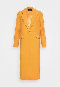Bruuns Bazaar - FLORAS ALANNA COAT - Kåpe / frakk - orange glow - 8
