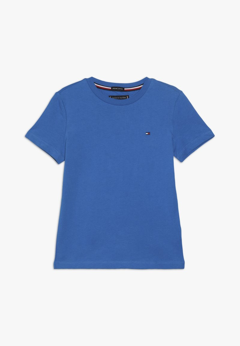 Tommy Hilfiger - ESSENTIAL ORIGINAL TEE - T-shirt print - blue