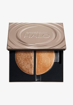 HALO GLOW HIGHLIGHTER DUO - Highlighter - golden bronze