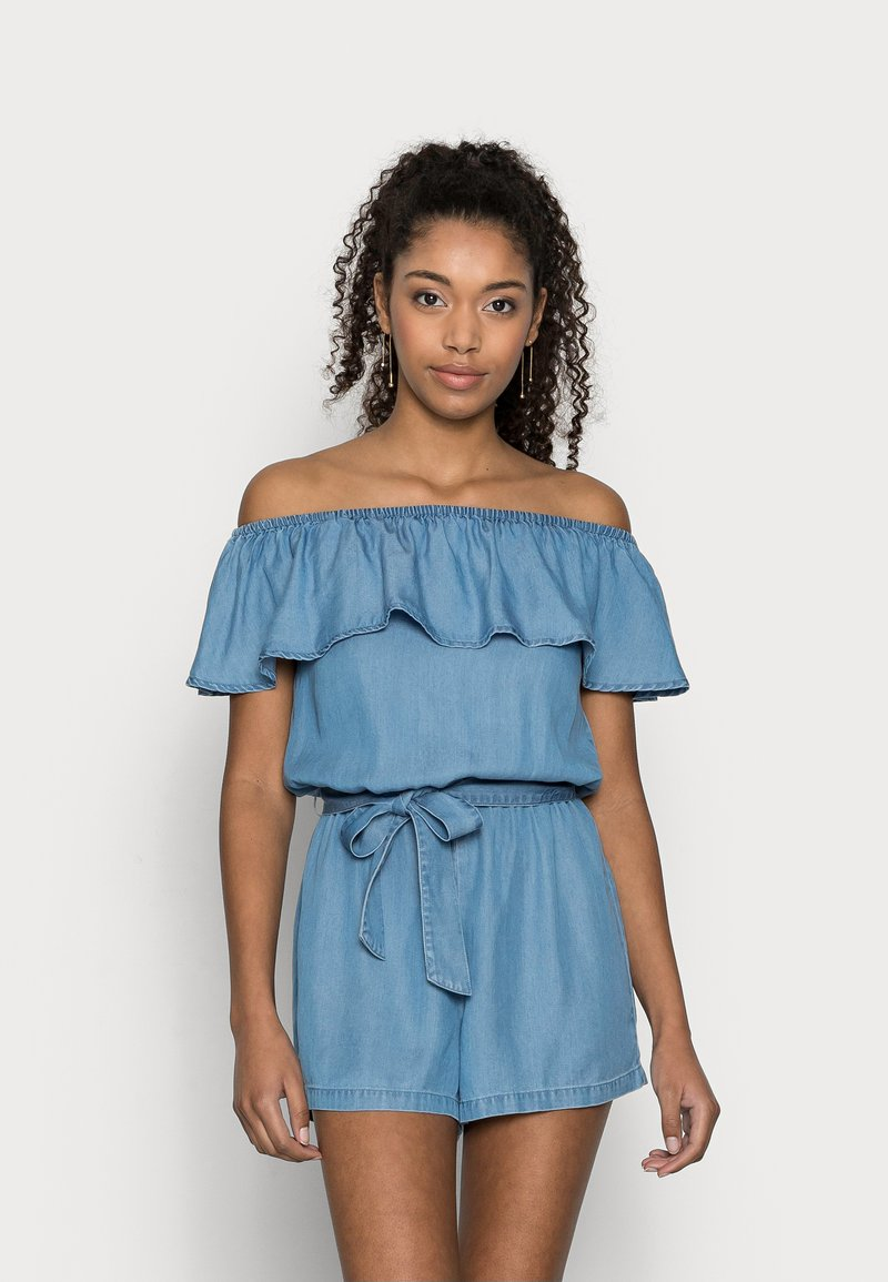 Vero Moda Petite - VMMIA PLAYSUIT - Jumpsuit - light blue