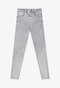 Stradivarius - Jeans Skinny Fit - light grey - 4