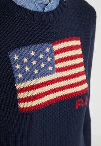 Polo Ralph Lauren - LONG SLEEVE - Jersey de punto - hunter navy - 4