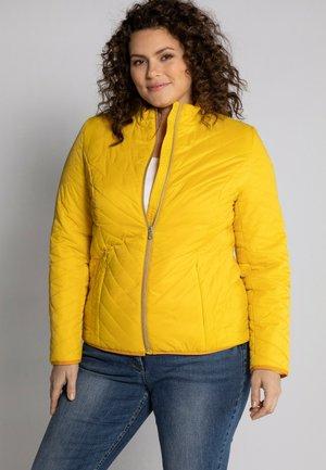 Outdoor jacket - helles senfgelb