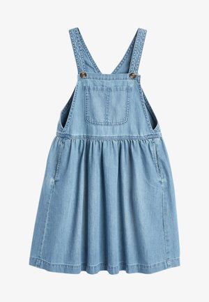 PINAFORE - Denim dress - blue denim